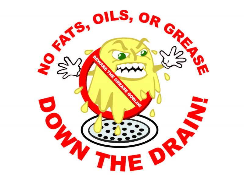 Fats Oil Amp Grease Education Town Of Greenevers North